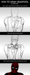 How to draw Deadpool by Cheu-Sae