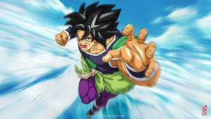 Dragon Ball Super - Broly fanart by Cheu-Sae