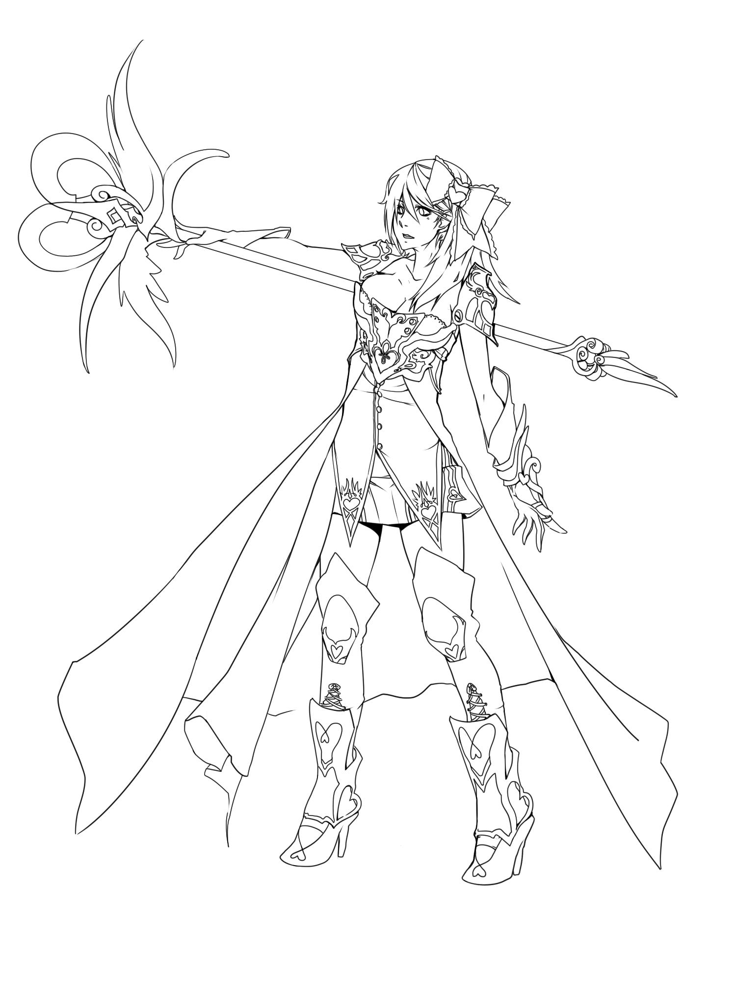 Valentine Knight by Girutea