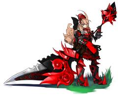 Red baronness by Girutea