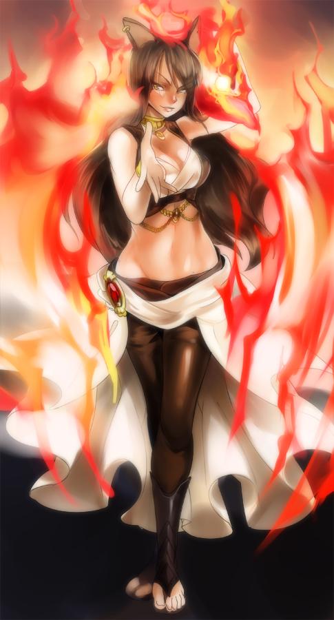 Phoenix Fire by Girutea