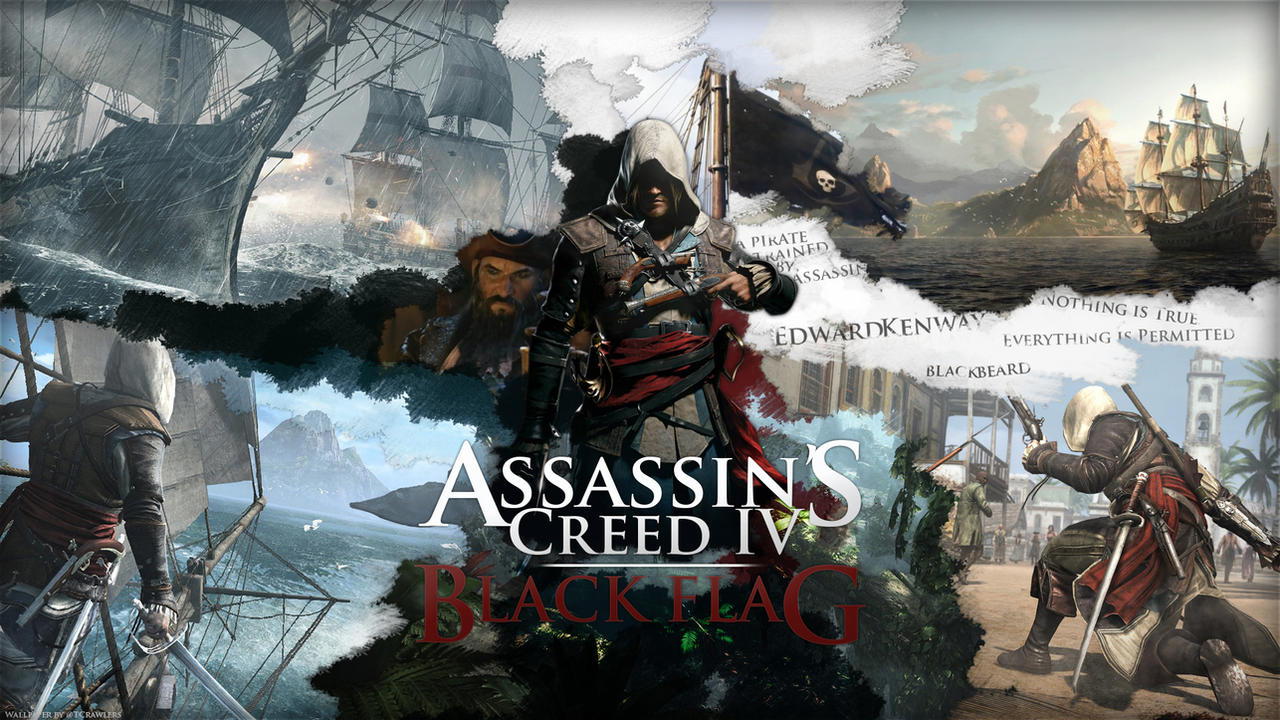 assassin 39 s creed iv black flag wallpaper by skycrawlers on