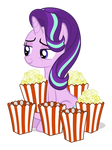 I friggin' love popcorn