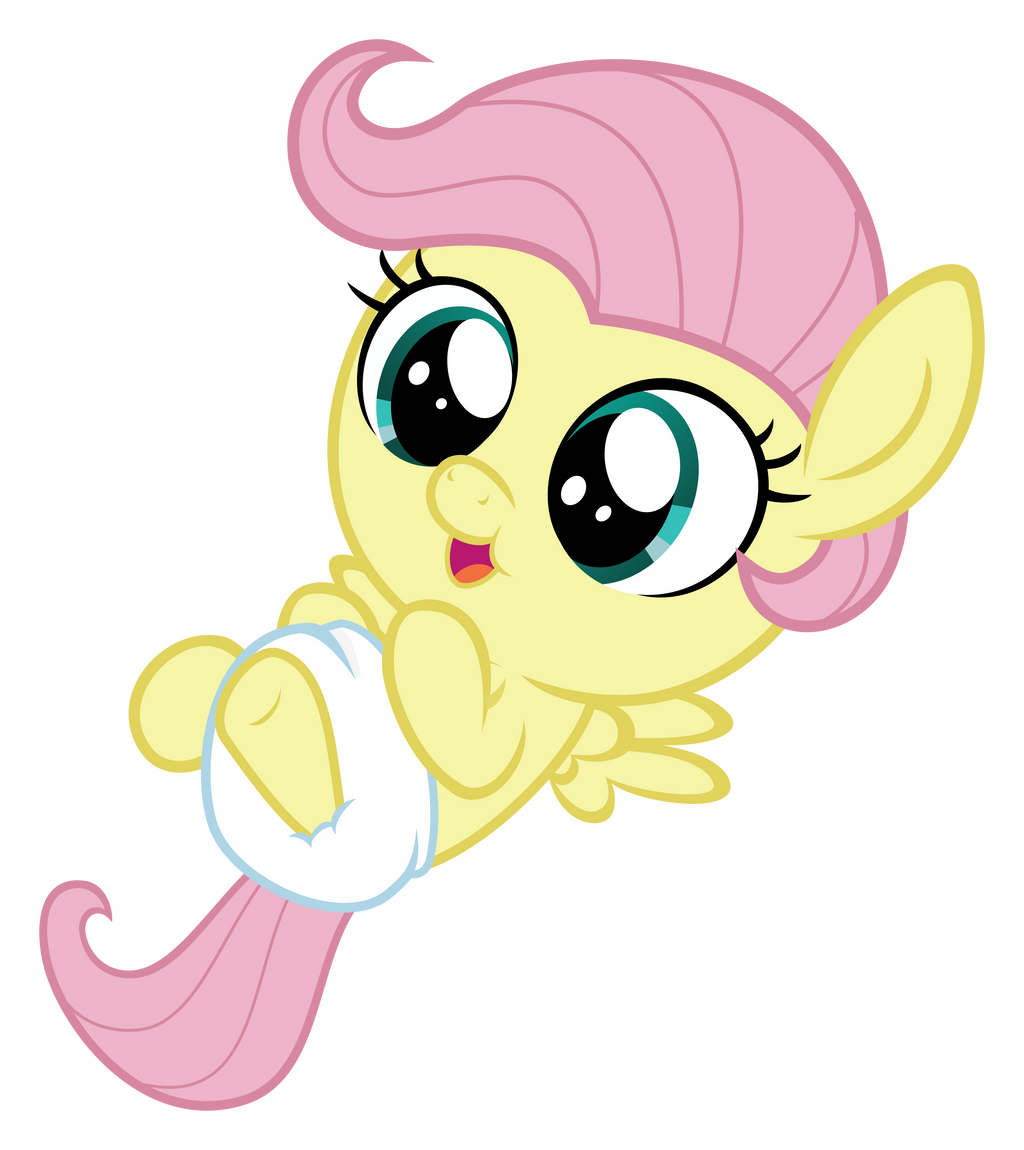 Baby Fluttershy by Comeha on DeviantArt
