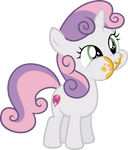 Sweetie Belle loves cake