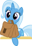 Cute Trixie with Saddle Bag