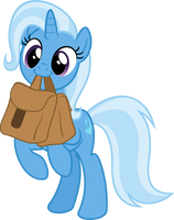 Cute Trixie with Saddle Bag (full body!) by Comeha