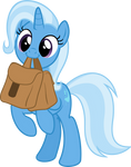 Cute Trixie with Saddle Bag (full body!)