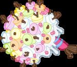 A Big Bushle Of Marshmallows
