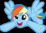 Cute Rainbow, Dash!