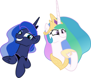 Two Best Sisters by Comeha