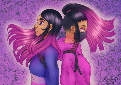 Akana and Hakai - Artfight 2021