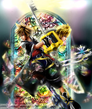 kingdom hearts game  __Shattered_Mirror___by_kingdomhearts