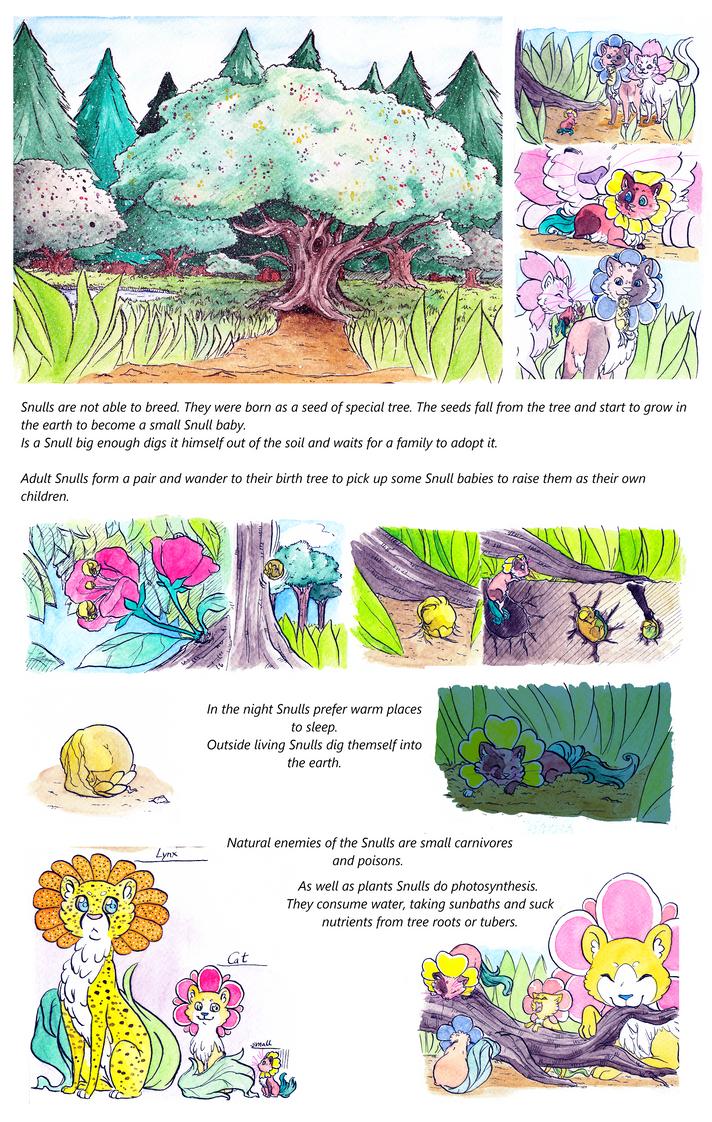Snull-Species_Refsheet by Shiro-ART