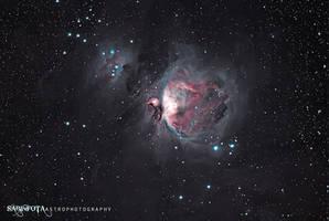 Great Orion Nebula, winter 2011 by whiteLion07
