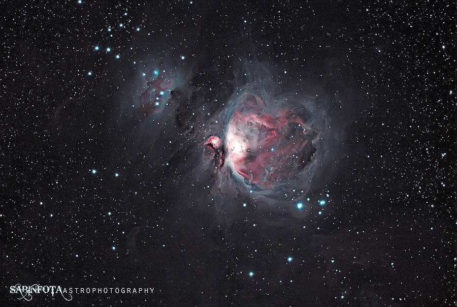 Great Orion Nebula, winter 2011 by whiteLion07