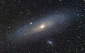 M31 - Andromeda galaxy reloaded by whiteLion07