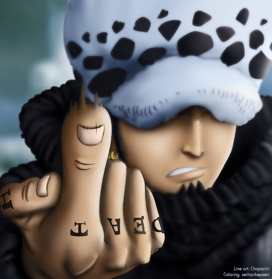 Trafalgar Law 660 by serhanhepsen