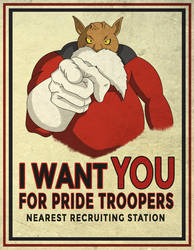 Toppo Wants YOU! by DFJonesArt