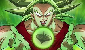 Super Saiyan Berserker Kale! by DFJonesArt