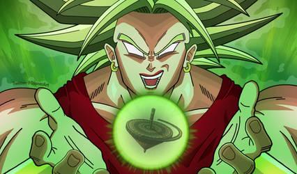 Super Saiyan Berserker Kale!