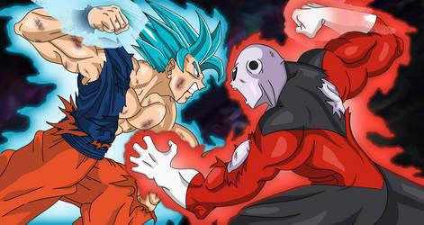 Goku vs Jiren!