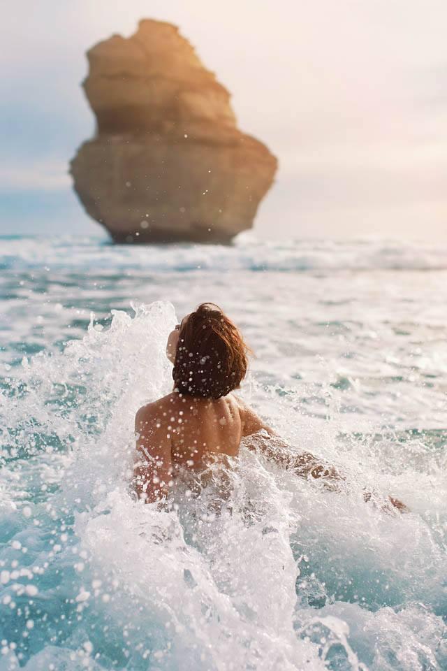 the sea is my dress by neoangelwink