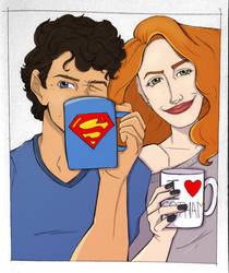 Dick and Babs - Good Morning by anacweber
