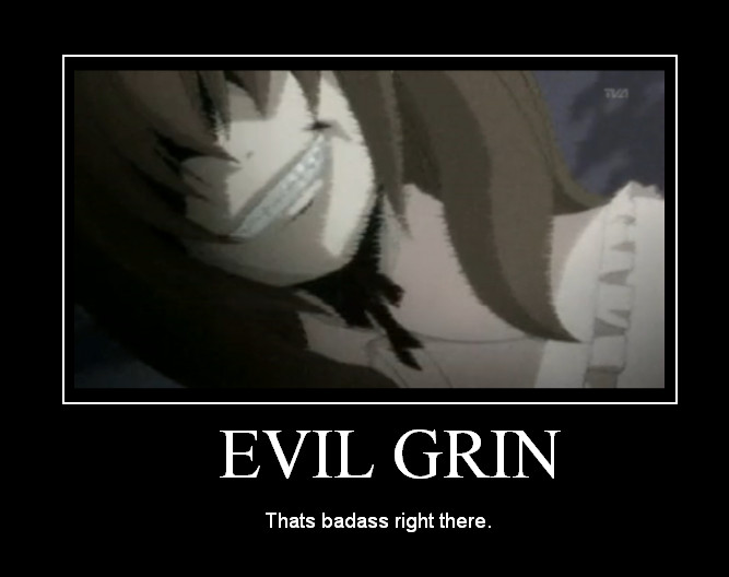Tekken Hurt and Heal game ( Tekken 2 ) - Page 3 Umineko_poster__evil_grin__by_Kate5