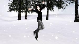 MMD Frozen Pose DL