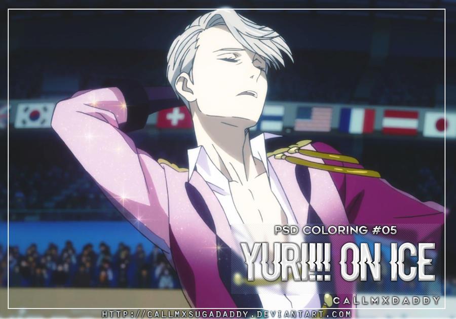 #05: Yuri!!! On Ice [PSD Coloring] by callmxsugadaddy