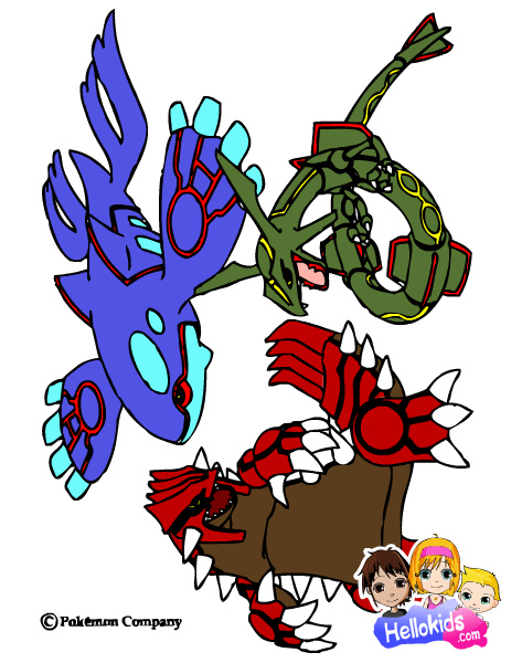 Kyogre Groudon y Rayquaza Wallpaper Kyogre Groudon Rayquaza