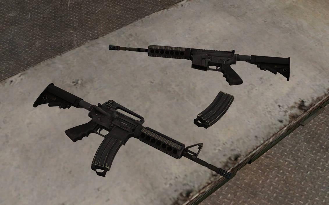 Battlefield 3 Colt M4/M4A1 by Portugueseotaku on DeviantArt
