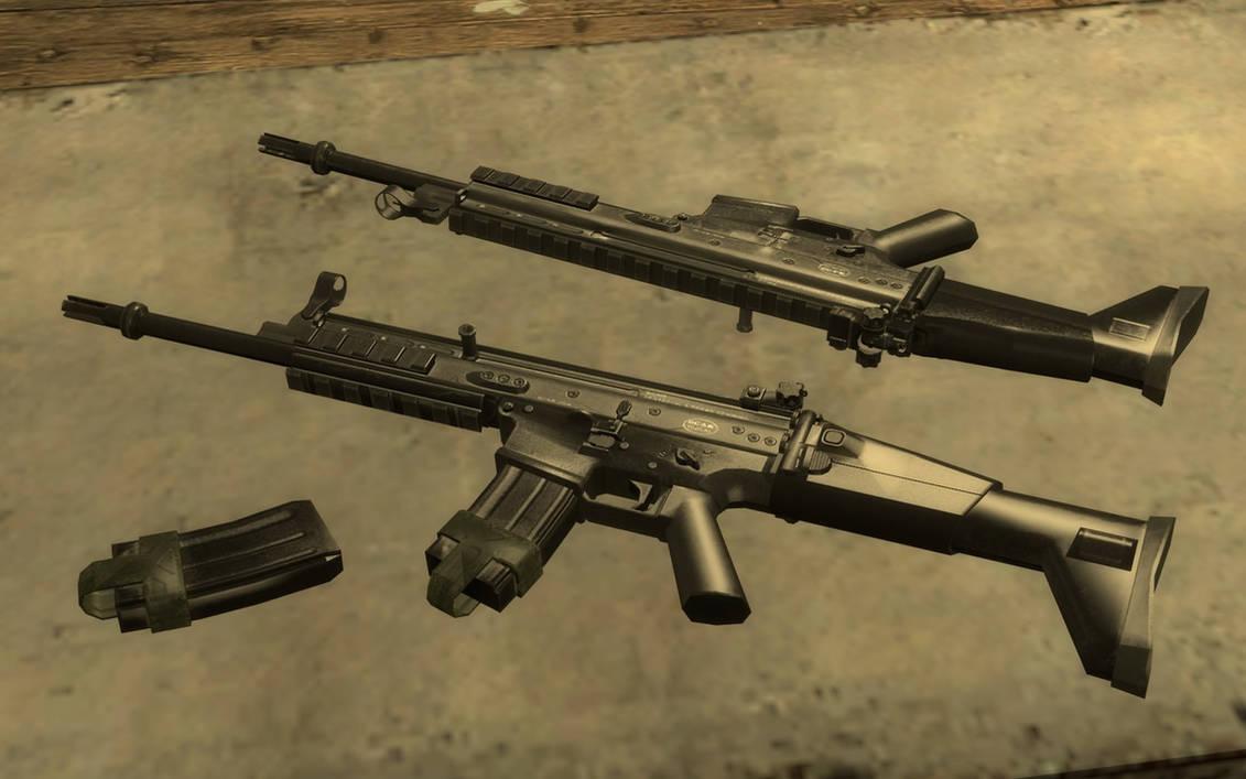 Modern Warfare 3 FN SCAR-L showcase by Portugueseotaku on