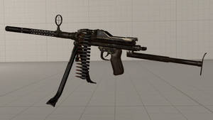 CoD WWII Mauser MG81 ground model