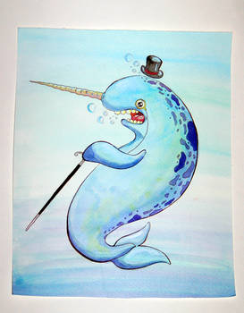 Narwhals just wanna be fancy