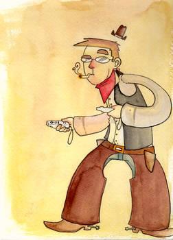 WiiMote Cowboy