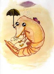 Rainy the Rain Shrimp by AlyceInW0nderland