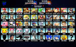 Super Smash Bros. Wii U/3ds Roster (Melee Style)