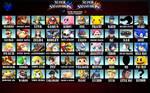 Super Smash Bros. Wii U/3ds Roster (Brawl Style)