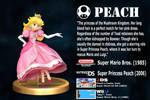 Super Smash Bros. Wii U/3ds Bio #3 Peach