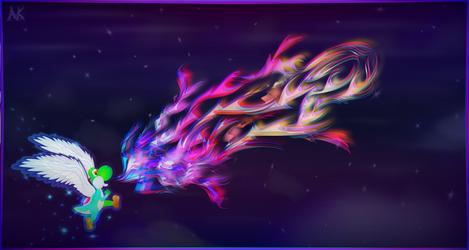 So Flies the Super Dragon by Kairnain