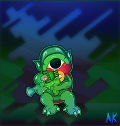 Dark World Spec Ops: Agent Ku by Kairnain