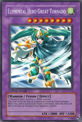 Elemental Hero The Shining Orica Elemental Hero Great TornadoElemental Hero The Shining Orica