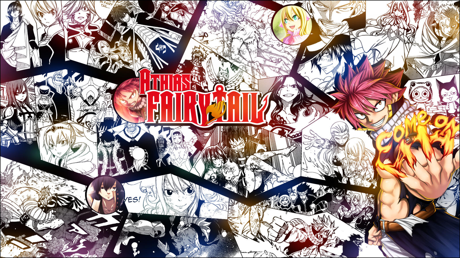 WALLPAPER - Fairy Tail...