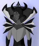 Male Black Diamond by EdithVanHopper