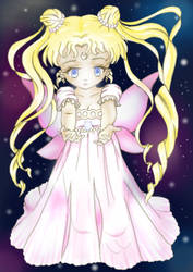 Petite Pastel Princess Serenity