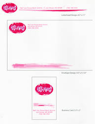 Planet Hollywood Concept Logo Stationary