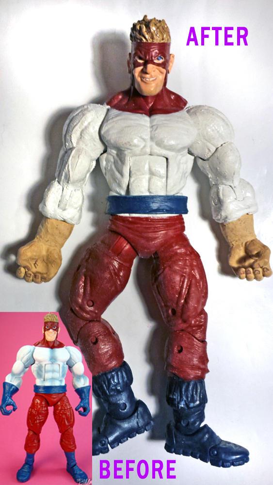Piledriver Custom Figure (Comic Accurate Version)