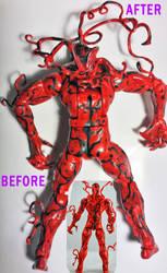 Detailed Custom Carnage Figure